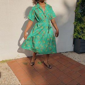 Vintage 70's Inspired Dress